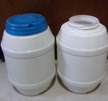4 пластиковые емкости для хранения в Бишкек