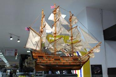 """Модель корабля """"HMS Victory""""(1765г)  в Бишкек"""