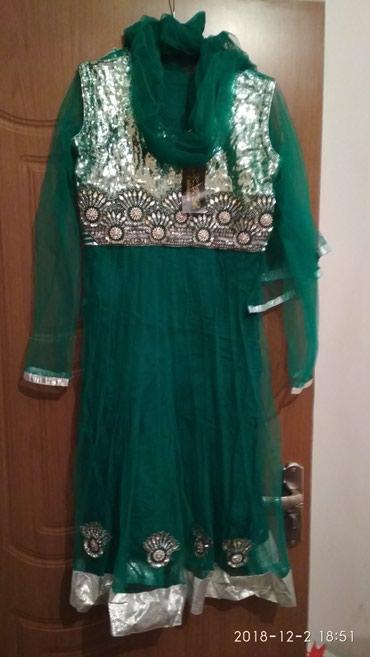 Продаю сари индийское новое. платье штаны и шарфик. в Кант