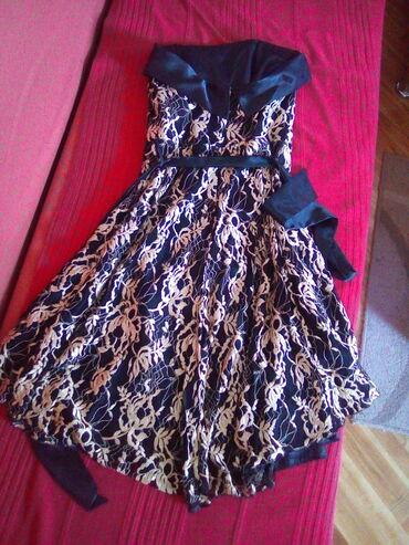 Cipkana haljina sa postavom happening, 36 velicina