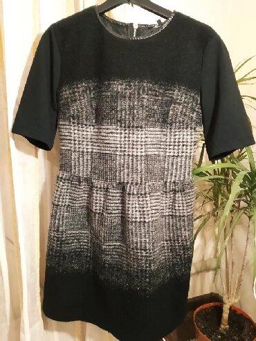 шерстяное платье в клетку в Кыргызстан: Платье TFJ шерстяное, размер s-m, в отличном состоянии, 500 сомМного