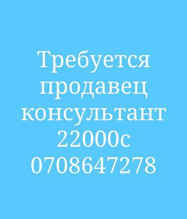 продавец консультант бишкек in Кыргызстан | ПРОДАВЦЫ-КОНСУЛЬТАНТЫ: Требуется продавец консультант Оплата 22-25000с