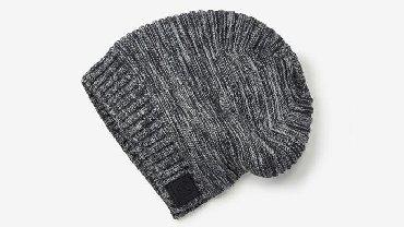 вязаное платье в пол в Кыргызстан: Модная вязаная шапка. Ребристые манжеты придают комфорт. Резиновая эти