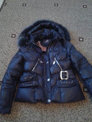 Пуховик. Лебяжий чистый пух. размер 46-48. куртка укороченная. Очень