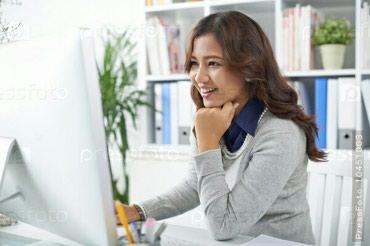 Требуется оператор, опыт значение не имеет. с 8:00 до 17:00 в Бишкек