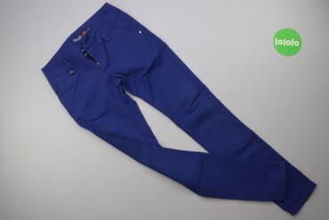 Жіночі однотонні штани з блискавками Ctm-moda, p. S   Довжина: 95 см Д