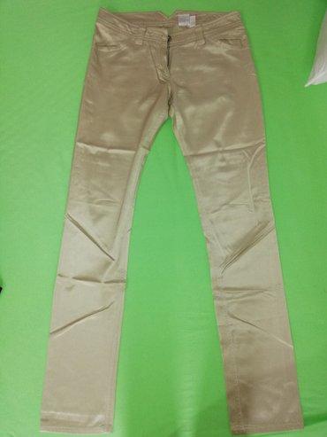 Max&co, letnje pantalone, zlatno-bež, 38, očuvane, 800 dinara - Beograd
