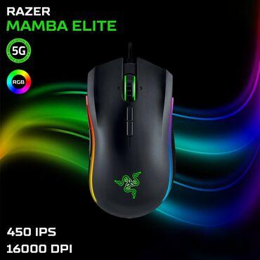 Mauslar - Azərbaycan: Razer Mamba Elite - RGBGaming mouseYeni - Bağlı qutuda9 Programlana