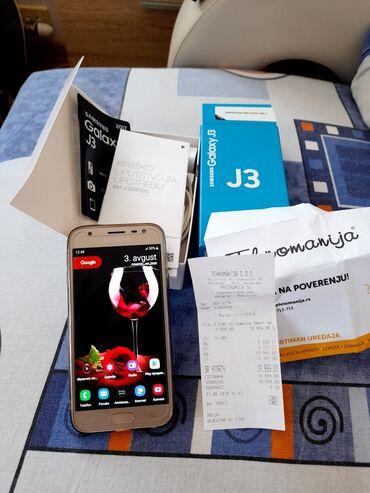 Punjac - Srbija: Na prodaju Samsung J3 2017 DualSim SimFre. Obe kartice su nano sim