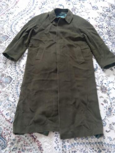 Пальто мужское натуральный кашемир б/у в идеальном состоянии