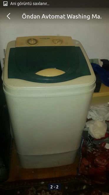Vertical Yarımavtomat Washing Machine 6 kq