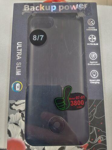 iphone 6 yeni - Azərbaycan: Iphone. 7 8 ucun powerbankli kabro yeni. 3800mah