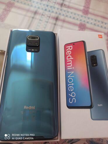 Электроника - Сокулук: Xiaomi Redmi Note 9S | 128 ГБ | Синий | Сенсорный