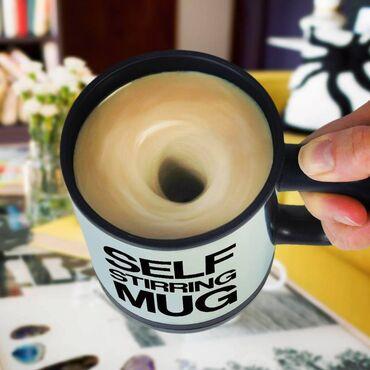 Mikser özellikli kupa bardak Toz içeceklerinizi hazırlarken