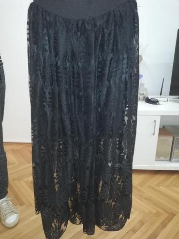 Cipkana-crna - Srbija: Duga cipkana suknja