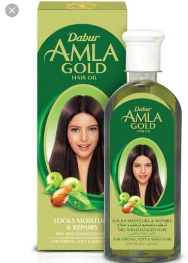 Bakı şəhərində Amla yağı GOLD: saçları diblərini bərkidir, sağlam