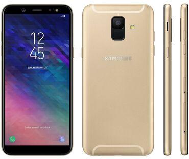 Б/у Samsung Galaxy A6 32 ГБ Золотой