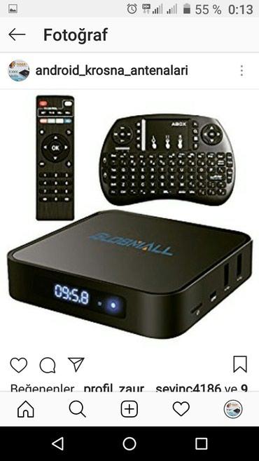 Bakı şəhərində Android tv box satiwi kanallar rus. turk. azeri. usd. gorgian.