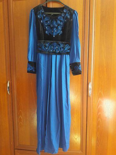 Продаю вечернее платье с национальным орнаментом, размер 50, пошив КР
