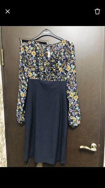 Платье новое, сидит по фигуре, размер xs-s(36-42), длина ниже колен, п