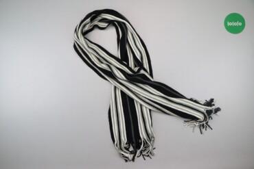 Чоловічий шарф у смужку Powerman   Довжина: 165 см Ширина: 31 см  Стан