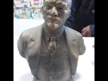 Статуетка Ленина в Бишкек