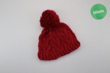 Жіноча шапка з помпоном   Висота: 20 см (без помпона) Ширина: 27 см  С
