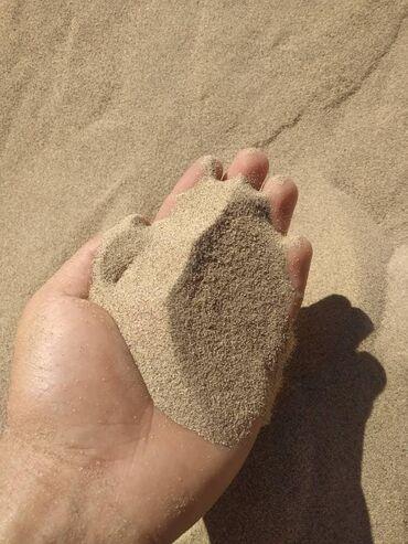 Песок мелкий сеяный Песок для кладки и штукатурки Песок для детской