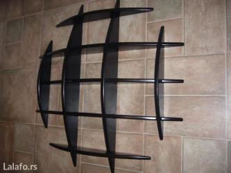 Exkluzivna polica od drveta, dimenzija 100x100 cm, debljina drveta je - Backa Topola