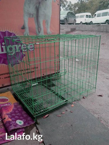 вольер для щенков в Кыргызстан: Вольеры клетки для собак,от 50см до 1 м в длину