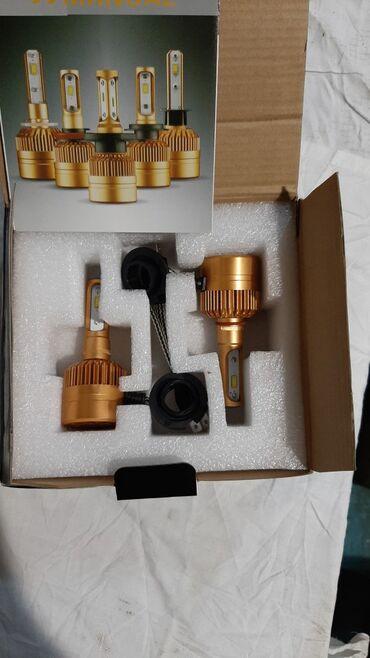 Led lampalar H1, 9006/HB4 6000K ağ işıq vurur təzədir