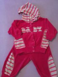Ostala dečija odeća   Futog: Plisana trenerka vel. 74 cm  Prodajem plisanu trenerku za devojcice ve