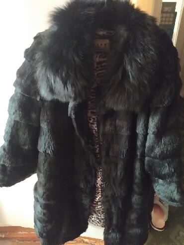 Женская одежда в Лебединовка: Шубка кролик,сост идеальное,рукав четверть,р-р 42-46,Торг возможен