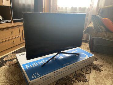 Срочно продаю телевизор 43дюйма Смарт Телевизор новый покупали за