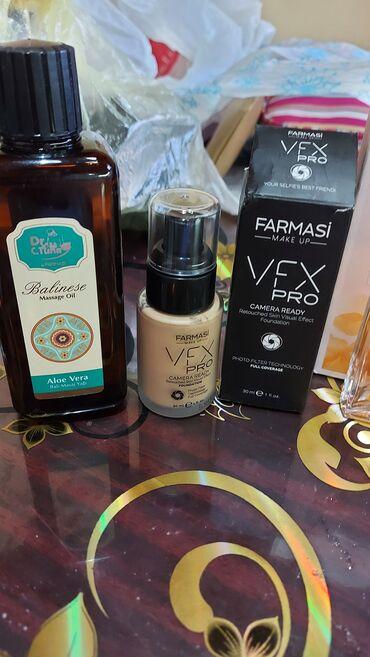Ulje za masažu,puder natural belge i parfem,ceo set