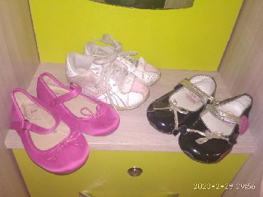 фирменную обувь в Кыргызстан: Продаю фирменную детскую обувь PUMA,Zara для девочки. Заказывали или