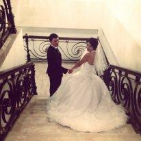 Продаю свадебное платье со стразами в Бишкек