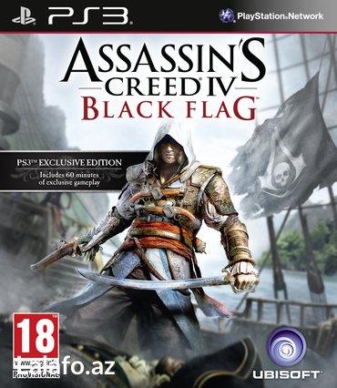 """Bakı şəhərində """"Assassins Creed 4"""" PS3"""