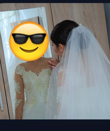 Продаётся красивое свадебное платье в Бишкек