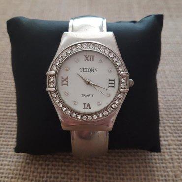 """""""CEIQNY"""" fashion ženski ručni sat, sa cirkonima i rimskim"""