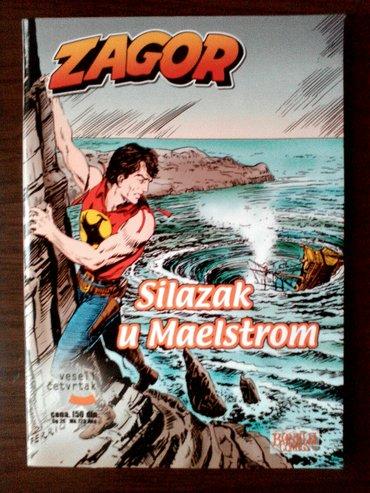 Zagor - silazak u Maelstrom br. 12 izdanje iz 11.12.2008 god.Strip je - Kragujevac