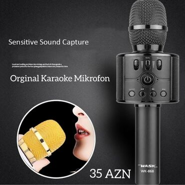 Original karaoke mikrofon