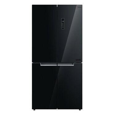 | Черный Side-By-Side (двухдверный) | Черный холодильник Midea