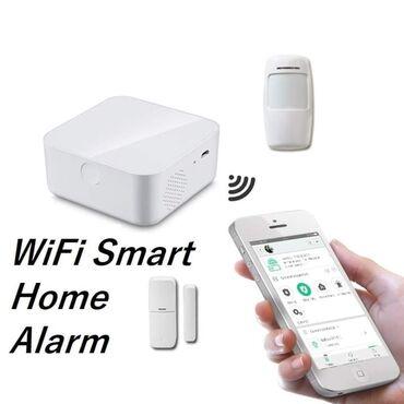 6000dinBežični Pametni Alarm za kućuSenzor pokreta, Senzor vrata
