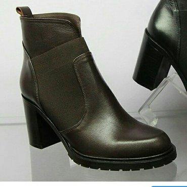 Ботинки натуральная кожа, производство Турция. Размер 39, 40. в Бишкек