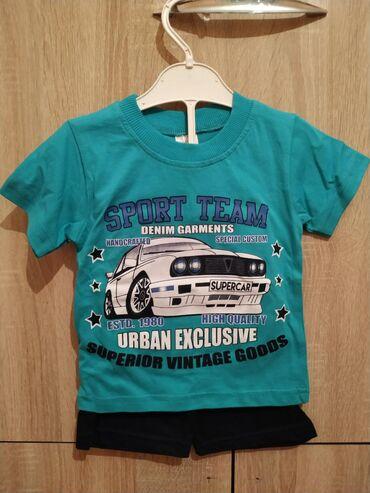Наборы футболки с шортами для мальчиков 3-5 лет хлопок 100% привезены