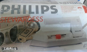 Mini philisps pegla za putovanje,nova,u  originalnoj ambalazi.Licno - Crvenka
