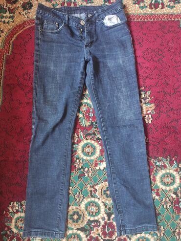 Джинсы - Б/у - Бишкек: Продаю джинсы, возможны уступки, размер 32