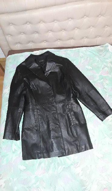 Italijanska-kozna-crna-jakna - Srbija: Crna orginal kozna zenska jakna, u odlicnom stanju, kao nova, velicina