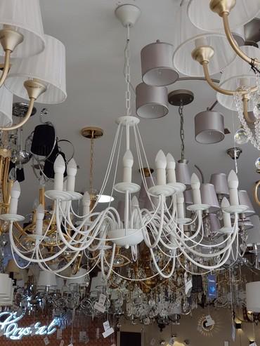 пояльные лампы в Кыргызстан: Люстра 16 ламп